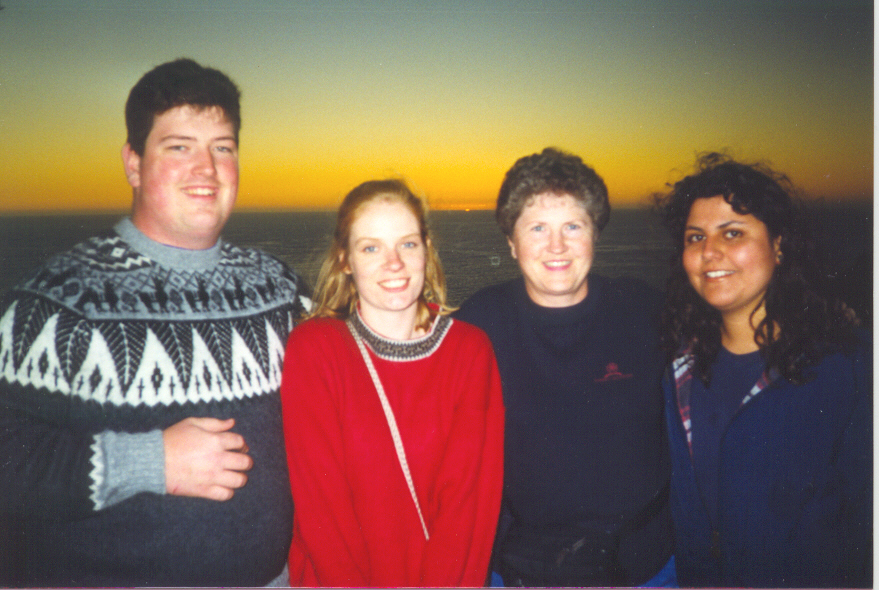 Tony, me, Teresa and Paulina